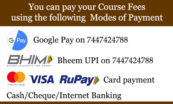 Payment methods for yoga classes  at Yogalaya Pune